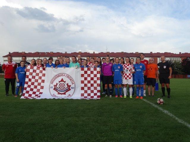 ŽNK Agram vs. Soccer Club Mississauga (Toronto)